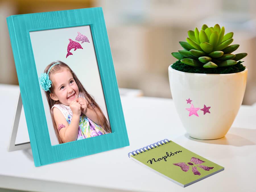 Mini Dreamy Csillámtetoválás színezési ötletek