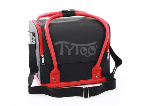 Nagy Testfestő táska Fekete-Piros