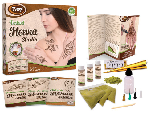 TyToo Instant Henna Studio
