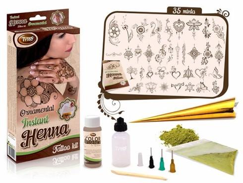 henna, tattoo henna, henna por, hennapor, henna testfesték, henna szett, instant henna, TyToo henna