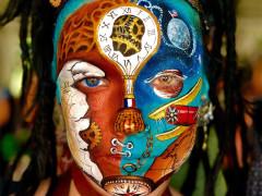Tudod pontosan mit ábrázol a világ második legjobb arcfestése?