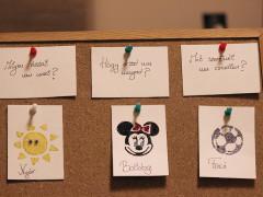 Lurkótábla – egy naptár, amit a kicsi gyerekek is megértenek